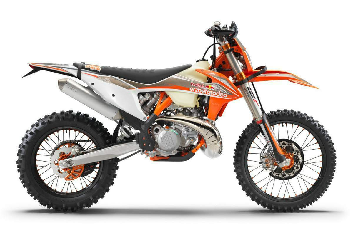KTM 300 EXC TPI Erzbergrodeo technical specifications